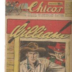 Tebeos: CHICOS. Nº 444. CONSUELO GIL. 1947. (RF.MA)C/7. Lote 97608799