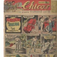Tebeos: CHICOS. Nº 450. CONSUELO GIL. 1947. (RF.MA)C/7. Lote 97608955