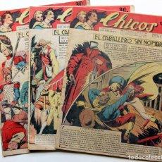 Tebeos: 3 TBOS CHICOS 1942 Nº211-213-220 - CONSUELO GIL / CUTO BY JESÚS BLASCO. Lote 97712659