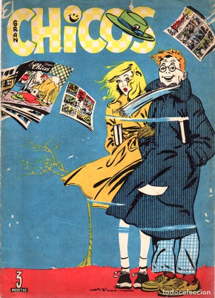 EL GRAN CHICOS. JUNIO 1949. Nº 40 (Tebeos y Comics - Consuelo Gil)
