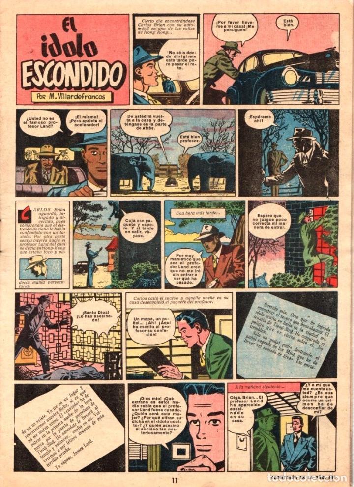 Tebeos: EL GRAN CHICOS. JUNIO 1949. Nº 40 - Foto 3 - 99496055