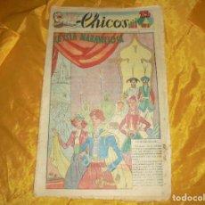 Tebeos: CHICOS Nº 49 : LA ISLA MARAVILLOSA. 8 FEBRERO 1939. CONSUELO GIL. 15 CTS. Lote 101316031
