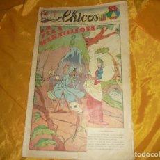 Tebeos: CHICOS Nº 50: LA ISLA MARAVILLOSA. ORIGINAL. 15 FEBRERO 1939. CONSUELO GIL. 15 CTS. Lote 101316223
