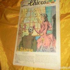 Tebeos: CHICOS Nº 66 : EL ALACRAN. 7 JUNIO 1939. CONSUELO GIL. 15 CTS. Lote 101930539