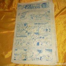 Tebeos: CHICOS Nº 33 : EL CAPITAN ACUÑA. 11 OCTUBRE 1938. CONSUELO GIL. 10 CTS. Lote 101935763