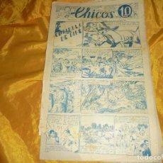 Tebeos: CHICOS Nº 38 : EL DIABLO DE DIBÉ. 23 NOVIEMBRE 1938. CONSUELO GIL. 10 CTS. Lote 101936107