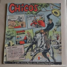 Tebeos: CHICOS Nº 8. 1954. LITERACOMIC. C1. Lote 105147271
