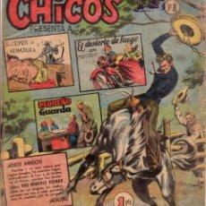 Tebeos: CHICOS. NÚMERO 8. Lote 108049939