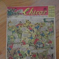 Tebeos: Nº 269 DE CHICOS. CONSUELO GIL. 1943. CINE LIONEL BARRYMORE. FUTBOL REAL MADRID. Lote 109339219