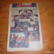 Giornalini: CHICOS Nº 125. 24 DE JULIO 1940. LA SECTA DEL DRAGON VERDE. CONSUELO GIL. 20 CTS. Lote 113561923