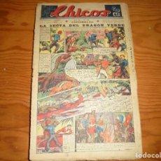 Giornalini: CHICOS Nº 133. 18 SEPTIEMBRE 1940. LA SECTA DEL DRAGON VERDE. CONSUELO GIL. 20 CTS. Lote 113562207