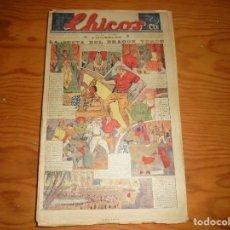 Tebeos: CHICOS Nº 140. 6 NOVIEMBRE 1940. LA SECTA DEL DRAGON VERDE. CONSUELO GIL. 20 CTS. Lote 113562915