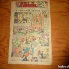 Tebeos: CHICOS Nº 153. 5 FEBRERO 1941. LA SECTA DEL DRAGON VERDE. CONSUELO GIL. 20 CTS. Lote 114032455