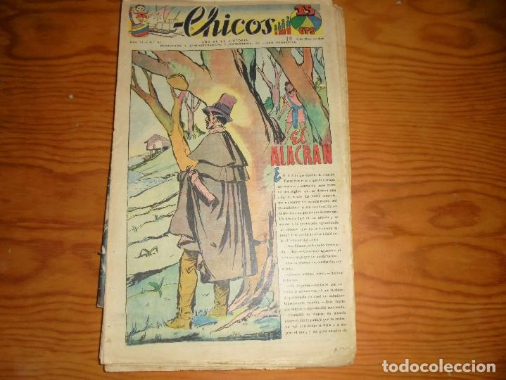 CHICOS Nº 61. 3 MAYO 1939. EL ALACRAN. CONSUELO GIL. 15 CTS (Tebeos y Comics - Consuelo Gil)