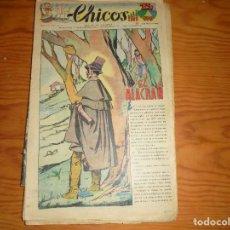 Tebeos: CHICOS Nº 61. 3 MAYO 1939. EL ALACRAN. CONSUELO GIL. 15 CTS. Lote 114105867