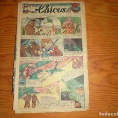 Tebeos: CHICOS Nº 74. 2 AGOSTO 1939. EL PAIS DE LAS ARENAS. CONSUELO GIL. 15 CTS. Lote 114106111