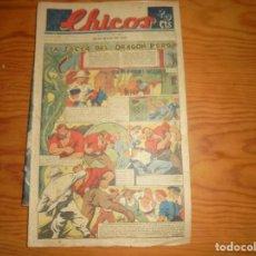 Tebeos: CHICOS Nº 117. 29 MAYO 1940. LA SECTA DEL DRAGON VERDE. CONSUELO GIL. 20 CTS. Lote 114106255
