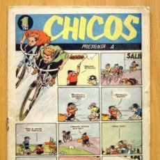 Tebeos: CHICOS DEPORTIVO Nº 63 - EDITORIAL C. GIL 1950. Lote 114961439