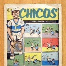 Tebeos: CHICOS DEPORTIVO Nº 60 - EDITORIAL C. GIL 1950. Lote 114961651
