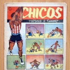 Tebeos: CHICOS DEPORTIVO Nº 62 - EDITORIAL C. GIL 1950. Lote 114961819