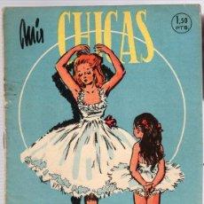 Tebeos: REVISTA MIS CHICAS. Nº 380. CON RECORTABLE MORRONGUITO. 25 DE SEPTIEMBRE DE 1949. Lote 114980680