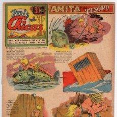 Tebeos: REVISTA MIS CHICAS. Nº 204. CON RECORTABLE. 25 DE OCTUBRE DE 1945. Lote 114982327