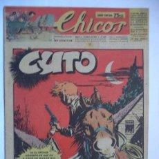 Tebeos: CHICOS Nº 432 DEL13 DE ABRIL DE 1947. Lote 115808467