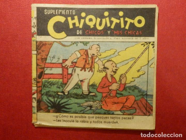 TEBEO - SUPLEMENTO CHIQUITITO - CON CENSURA ECLESIASTICA - Nº 60 - (Tebeos y Comics - Consuelo Gil)