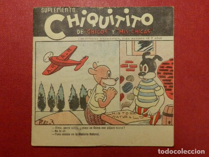TEBEO - SUPLEMENTO CHIQUITITO - CON CENSURA ECLESIASTICA - Nº XX ? - (Tebeos y Comics - Consuelo Gil)