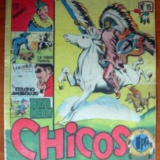 Tebeos: CHICOS Nº 15 - EDICIONES CID 1954. Lote 121715159