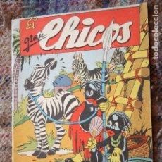 Tebeos: EL GRAN CHICOS, Nº 10. 1943. MUY BUEN ESTADO. Lote 121726951