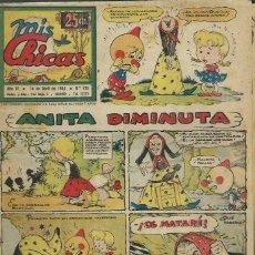 Tebeos: MIS CHICAS Nº 135 - ABRIL 1944 - ANITA DIMINUTA - ORIGINAL. Lote 122830895
