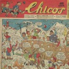 Tebeos: CHICOS - Nº 293 - MARZO 1944 - CONSUELO GIL - CON GUERRILLEROS ESPAÑOLES, LA PARTIDA DEL CHAMBERGO. Lote 122831047