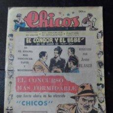 Giornalini: CHICOS ORIGINAL Nº 491 EDITORIAL CONSUELO GIL AÑO 1947. Lote 122932243