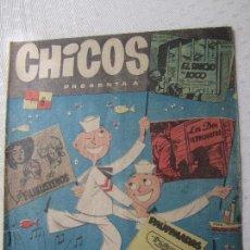 Tebeos: CHICOS , NUMERO 6 , EDITORIAL CID 1954. Lote 124507463