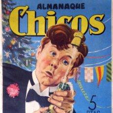Tebeos: COM-22. ALMANAQUE CHICOS. AÑO 1947. CONSUELO GIL. SAN SEBASTIAN.. Lote 126763231