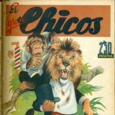 Tebeos: EL GRAN CHICOS COMPLETA 45 EJEMPLARES ENCUADERNADA EN TRES TOMOS. Lote 132195790