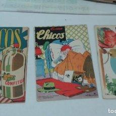 Tebeos: LOTE 3 EJEMPLARES DE EL GRAN CHICOS.. Lote 132210150
