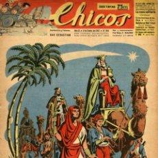 Tebeos: CHICOS-418 (CONSUELO GIL, 5 DE ENERO DE 1947). Lote 132345330