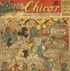 Tebeos: CHICOS-282 (CONSUELO GIL, 29 DE DICIEMBRE DE 1943). Lote 132359822
