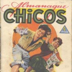 Tebeos: ALMANAQUE CHICOS 1945. CUTO, JESÚS BLASCO, FREIXAS, TOMÁS PORTO.... Lote 139339314