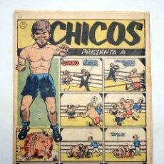 Tebeos: CHICOS AÑO XIII SEGUNDA ÉPOCA 55. (VVAA) CHICOS /GILSA, 1952. Lote 139513620