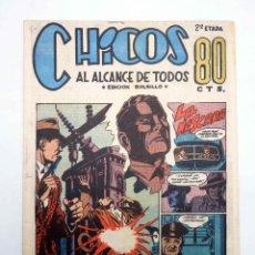Tebeos: CHICOS AL ALCANCE DE TODOS. 2ª ETAPA, EDICIÓN BOLSILLO 10. LA MÁSCARA (VVAA) CHICOS /GILSA, 1950. Lote 139513628
