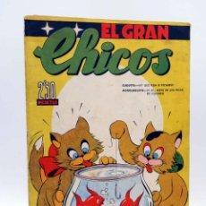 Tebeos: EL GRAN CHICOS 5. (VVAA) CHICOS /GILSA, 1946. Lote 139513960