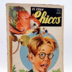 Tebeos: EL GRAN CHICOS 8. (VVAA) CHICOS /GILSA, 1946. Lote 139513972