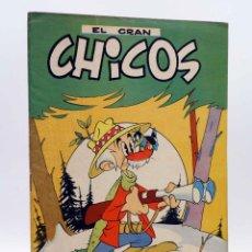 Tebeos: EL GRAN CHICOS 35. (VVAA) CHICOS /GILSA, 1949. BUEN ESTADO. Lote 139514008