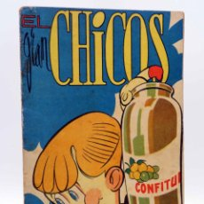 Tebeos: EL GRAN CHICOS 36. (VVAA) CHICOS /GILSA, 1949. Lote 139514012
