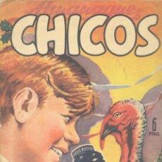 Tebeos: ALMANAQUE CHICOS 1949 (CUTO, BLASCO, FREIXAS Y OTROS GRANDES DE LA HISTORIETA ESPAÑOLA). Lote 140613378