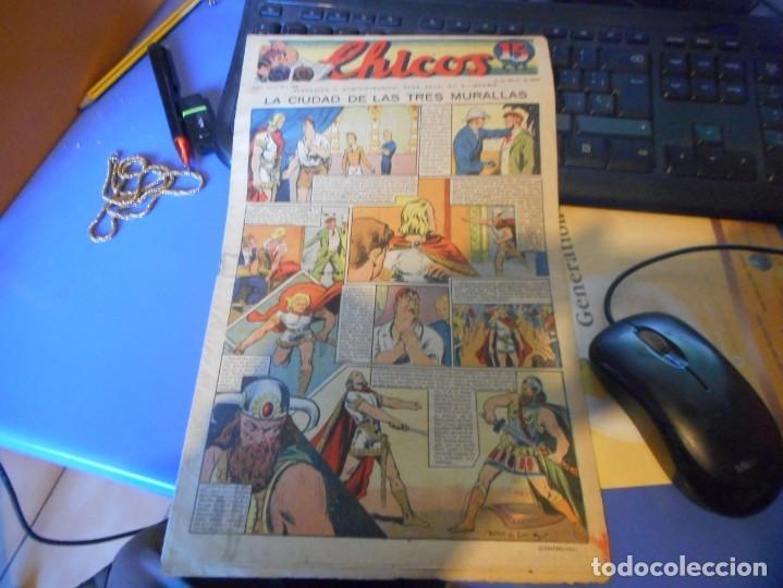 TEBEO COMPLETO CHICOS LA CIUDAD DE LAS TRES MURALLAS FREIXAS 1940 NUMERO 106 (Tebeos y Comics - Consuelo Gil)