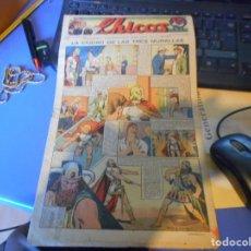 Tebeos: TEBEO COMPLETO CHICOS LA CIUDAD DE LAS TRES MURALLAS FREIXAS 1940 NUMERO 106. Lote 145357798
